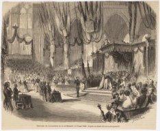 Inhuldiging van Koning Willem III