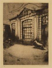 Tuinhuis van Perceel Prins Hendrikkade 171