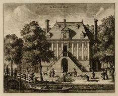 De Westerhal op de Westermarkt, gezien van de oneven zijde van de Keizersgracht.…