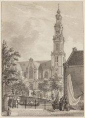 De Bloemgracht met de Westerkerk