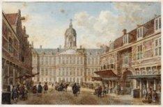 Het Stadhuis van de Vijgendam te zien