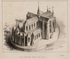 De Nieuwe Kerk in 1544