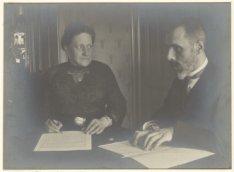 Portret van organist Antonius Wilhelmus  Rijp (1867-1931)