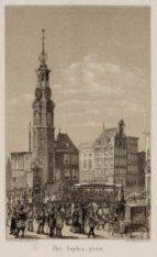 Het Sophia-Plein, later de Munt, gezien vanaf de ingang van de Vijzelstraat naar…