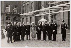Ontvangst door HM Koningin Wilhelmina van het Comité Nationaal Huldeblijk