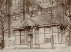 Politieposthuis nummer 19 op de Westermarkt, in gebruik genomen in het jaar 1908