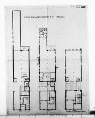 Ontwerptekeningen met aanzichten, plattegronden en doorsneden; nr. 3