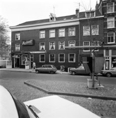 Prinsengracht 296, zijgevel, en rechts aansluitend Elandsgracht 1 - 3 (ged.)