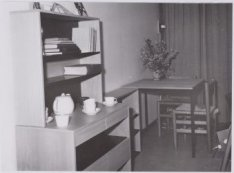 Kamer in het bejaardentehuis Amstelhof, Amstel 51