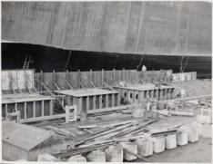Voorbereidingen voor de tewaterlating van de tanker ms. Doha twee dagen later