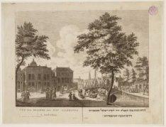 Vue des Eglises des Juif Allemands á Amsterdam