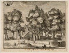 Ander Gezicht van 't Selfs Kerkhof 1710