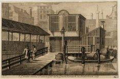 't Comptoir van St. Pieters Gild, op de Groote Vismarkt tot Amsterdam. Ao. 1769