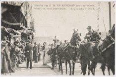 Bezoek Koningin Wilhelmina en Prins Hendrik, 1904
