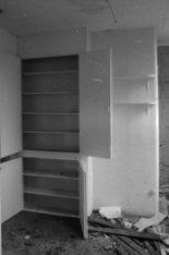 Hoogte Kadijk 29-33, interieur  keuken ca. 1850