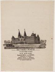 Van ouds het Wapen van Spanje.  J.P. Zwier, firma G.W.L. van Elwe