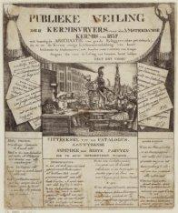 Publieke Veiling der Kermisvryers voor de Amsterdamse Kermis van 1837
