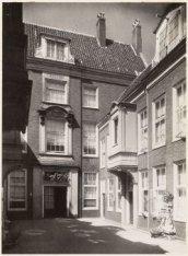 De binnenplaats, Brandts Rushofje, Nieuwe Keizersgracht 28-44