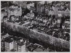 Luchtfoto van de Herengracht en omgeving gezien in noordwestelijke richting