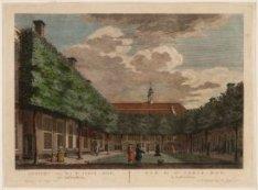Gezicht van het St. Joris-Hof, tot Amsterdam