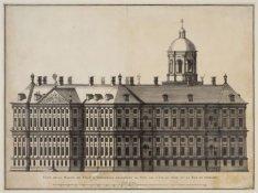 Face de la Maison de Ville d'Amsterdam