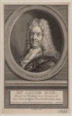 Portret van Mr. Jacob Hop (1654-1725), theasauriergeneraal der Unie 1699-1725, s…
