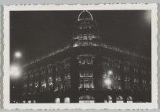 Illuminatie ter gelegenheid van het 40-jarig regeringsjubileum van koningin Wilh…
