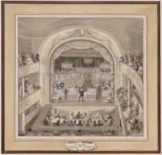 Den goochelaar Döbler in den Franschen Schouwburg
