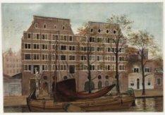 Brouwersgracht 213-221, de  Gouvernements- of Artilleriepakhuizen aan de zuidzij…