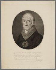 """A.H. de Melander als Grootmeester der Vrijmetselaarsloge """"La Bien Aimée"""", 1828"""
