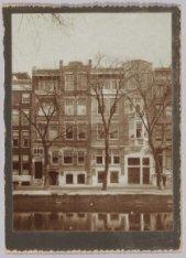 De gevel van het kantoorpand van C.G.A. Corvey Papiergroothandel N.V