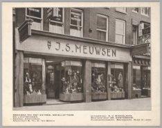 Bronzen winkelpui van de firma J.S. Meuwsen