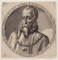 Portret van Hertog van Alva Ferdinandus Alvares van Toledo (1507-1582), gouverne…