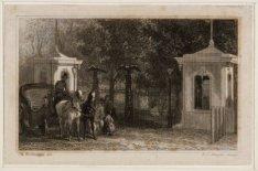 De nieuwe hoofdingang van Artis, Plantage Kerklaan 40, dateert van 1854. Technie…