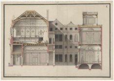 Prijsvraagontwerp voor gebouw Felix Meritis, Keizersgracht 324, blad E