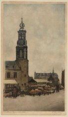 De Munttoren, Muntplein gezien vanaf de Bloemenmarkt aan het Singel