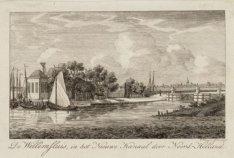 De Willemsluis, in het Nieuwe Kanaal door Noord-Holland