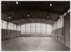 Elandsgracht 117, de sportzaal van het hoofdburo van politie
