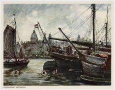 Havengezicht Amsterdam