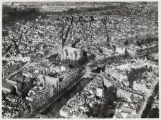 Luchtfoto van de Westermarkt en omgeving gezien in noordwestelijke richting