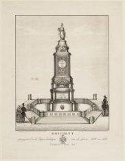 Monument opgerigt ter Eere der Dappere Verdedigers van de Jaren 1830 en 1831. On…