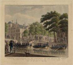 Plegtige Overbrenging van het Borstbeeld van den Admiraal de Ruyter