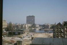 Panorama vanaf het Centraal Belasting Gebouw aan de Wibautstraat