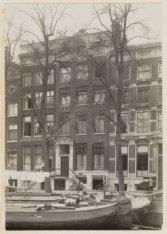 Herengracht 58 (ged.)-64 (ged.) (v.r.n.l.). Nummer 62 levensverzekeringsmaatscha…