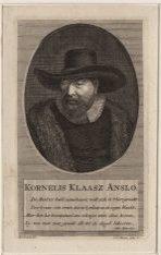 Portret van doopgezinde predikant Kornelis Klaasz Anslo (1592-1646)