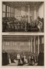 Assemblé de ceux qu'on appelle Collegians a Amsterdam - Leur cene a Rynsburg