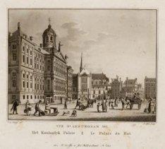 Vue d'Amsterdam no. 1 Het Koninglyk Paleis - Le Palais du Roi