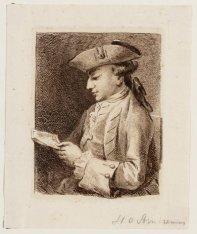 Portret van H.O. Arntzenius (1743-1795), Secretaris Jagtgerichte van Gooiland, l…