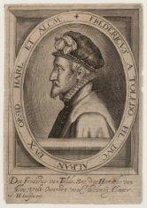Portret van Frederik Alvarez van Toledo (1529-1583), bevelhebber van het Spaanse…