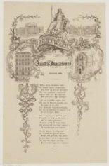 De Nachtwacht Aan Amstels Ingezetenen. Januarij 1852